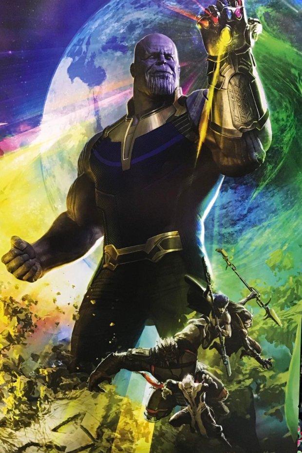 Avengers Infinity War _Poster
