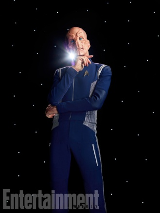 Star Trek: Discovery Pictured: Doug Jones Photographed by Matthias Clamer on Sunday, July 9, 2017 at the Pinewood Toronto Studios in Toronto ON. FINAL, RETOUCHED FILE